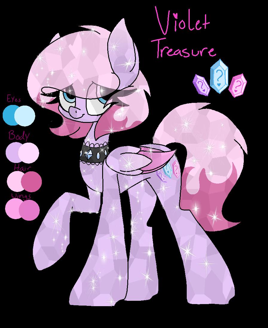 Violet Treasure by SpaazleDazzle