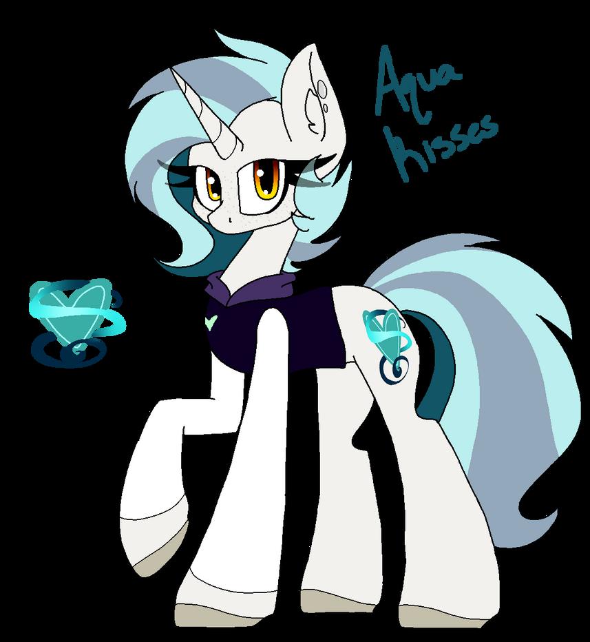 Aqua Kisses by SpaazleDazzle