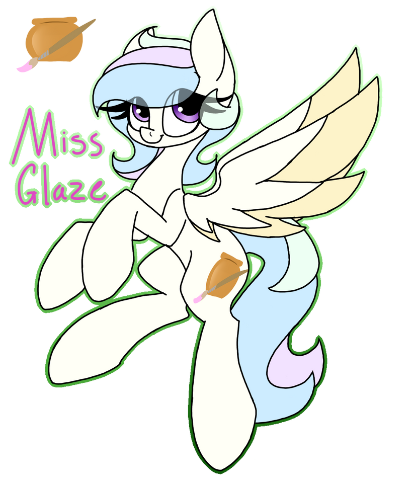 Miss Glaze by SpaazleDazzle