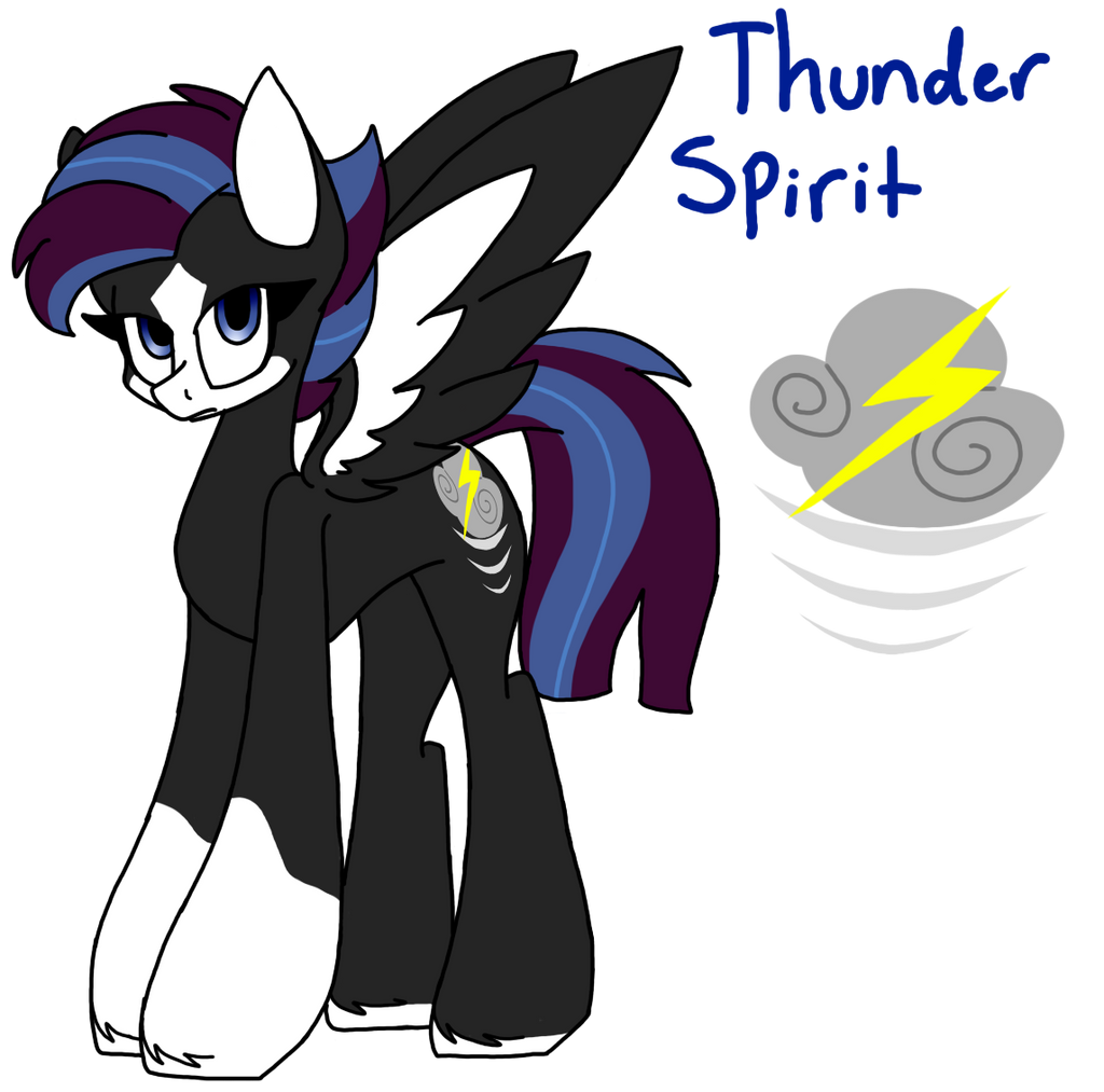Thunder Spirit by SpaazleDazzle