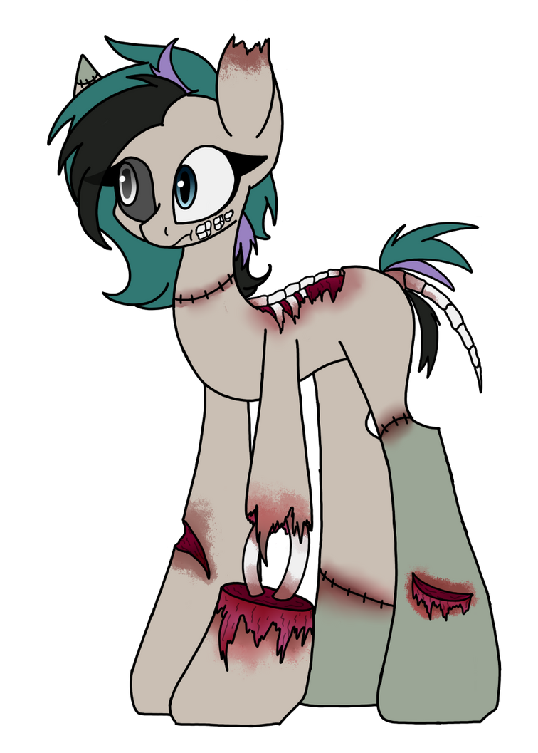 (Closed) OTA Zombie Pony Adopt by SpaazleDazzle
