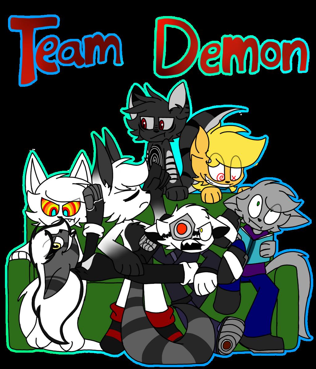 Team Demon by SpaazleDazzle