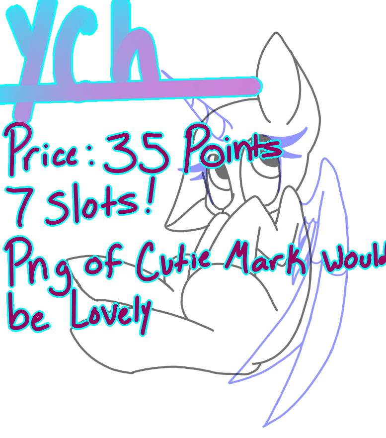 Closed Pony YCH by SpaazleDazzle