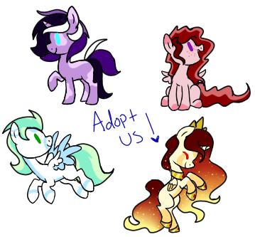Cheap Pony Adopts Closed by SpaazleDazzle