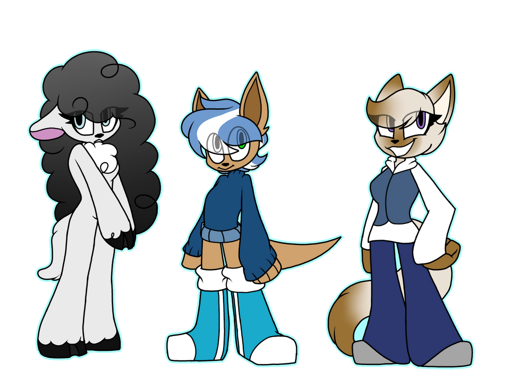 Closed Anthro Adopts by SpaazleDazzle
