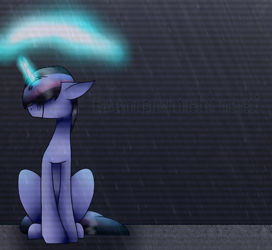Rainy Night by SpaazleDazzle