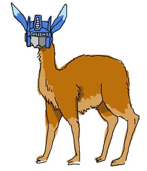 Llama-convoy by electricpole88