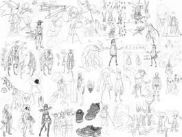 Sketch Dump 3 by CrimsonGear