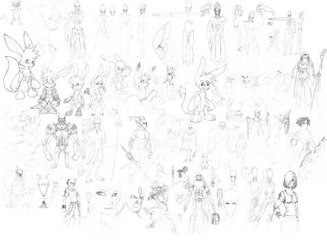 Sketch Dump 4
