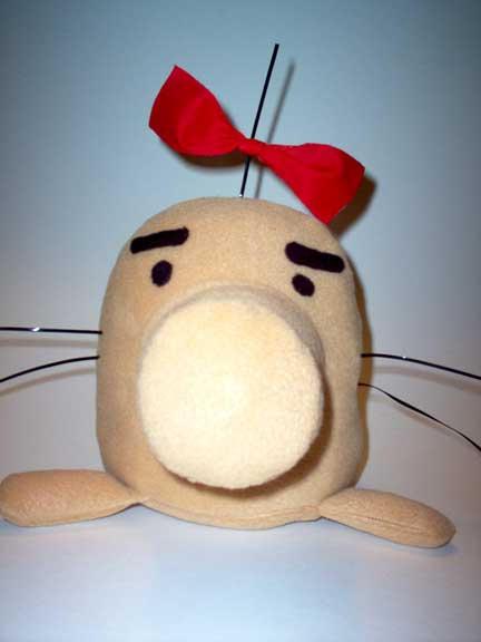 Mr Saturn Plushie by smtemp