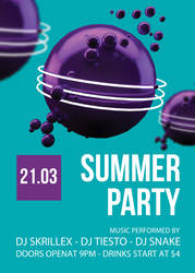 Abstract-Summer-Flyer by BestFlyerDesign