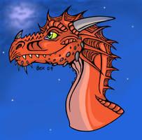 Dragon art by dragonbex