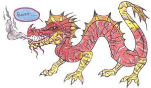 Venomous type dragon by dragonbex