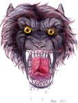 snarly werewolf