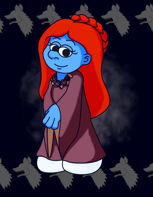 Smurf Sansa