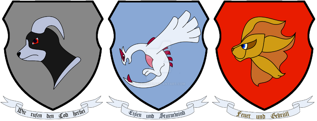 Crest of Armor with Pokemon