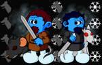 Smurf Robb and Smurf Jon