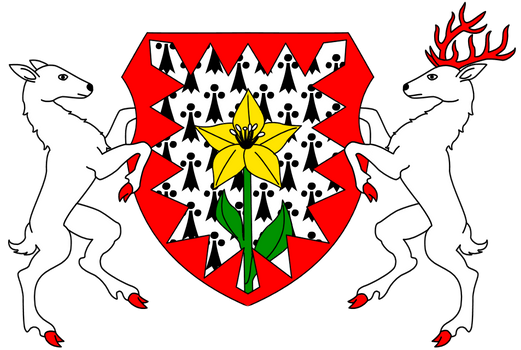 Crest of Family Arrington and their Owlish Lands