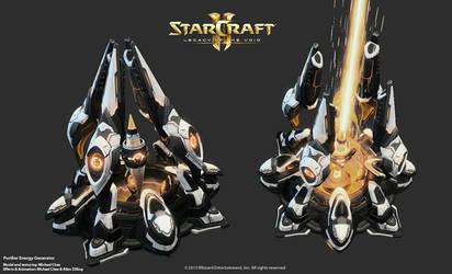 Starcraft2: Purifier Energy Generator by 3dchae
