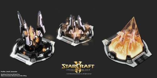 Starcraft2: Purifier Energy Generator Small
