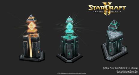 Starcraft2: XelNaga Power Cube Pedestal