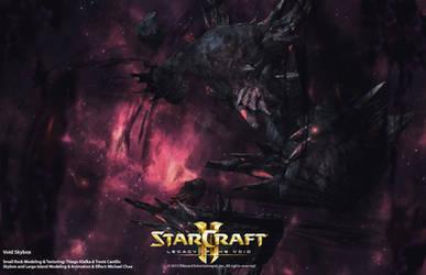 Starcraft2: Void Skybox