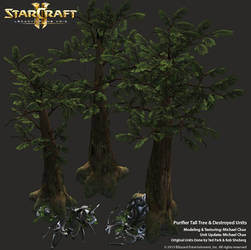 Starcraft 2: Purifier Tall TreeDestroyed Units