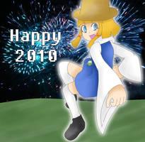 Already a Happy 2010 by TokyoMewMew-Girl