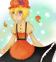 Because she is Minoriko by TokyoMewMew-Girl
