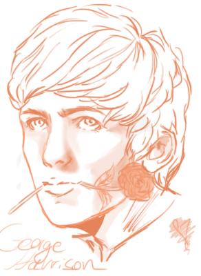 George Harrison by mae-dae
