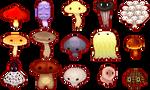 We are edible mushrooms!!