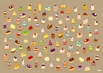 Little cakes game