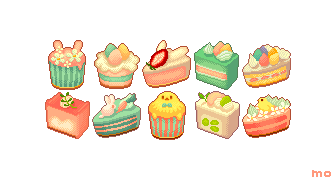 Easter cake set by YuukiMokuya