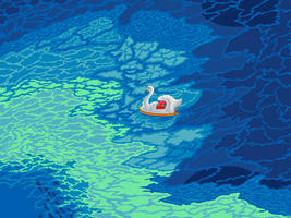 Sea swan by YuukiMokuya