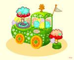 Cotton candy wagon by YuukiMokuya
