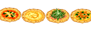 Hearth-baked Pizza set