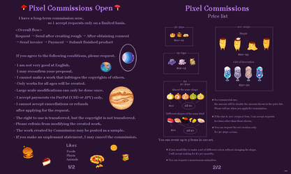Pixel Commissions Open!