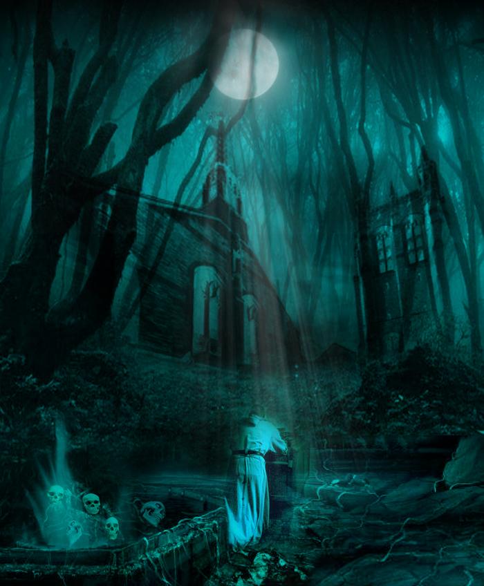 Forest of horror by LuckyFrame on DeviantArt