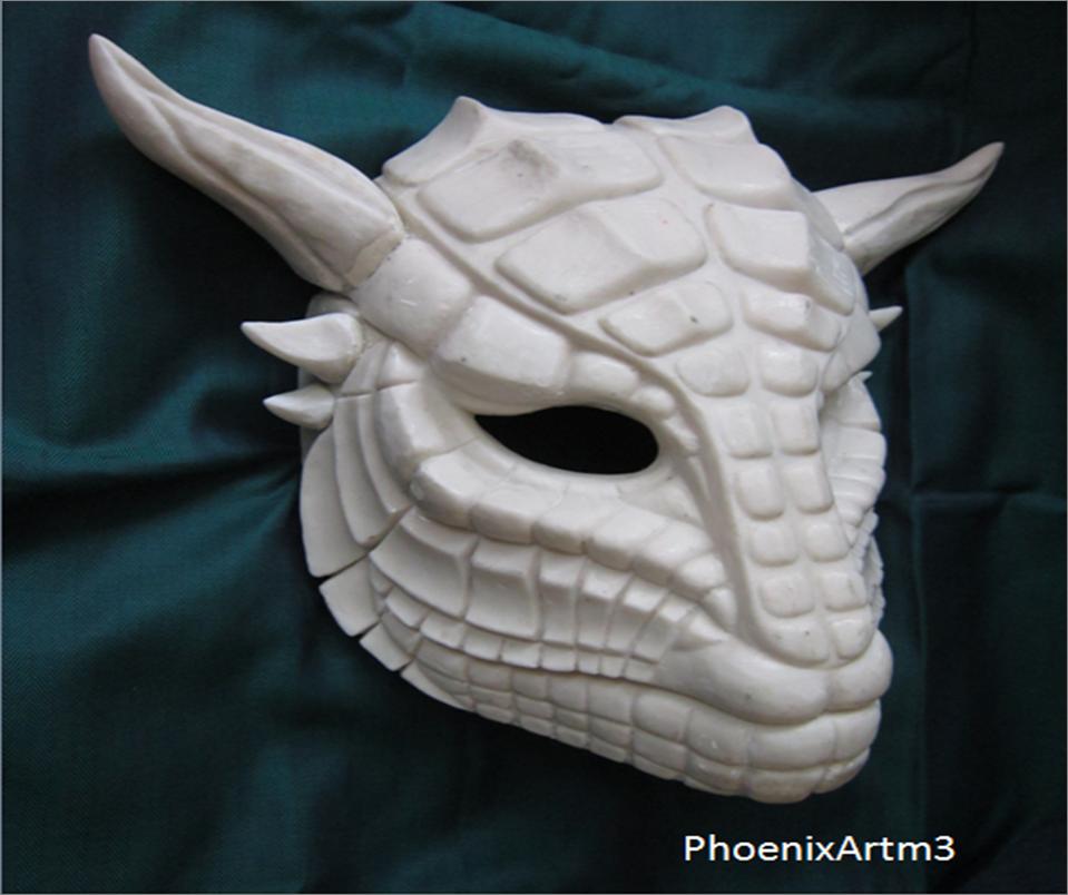 De Dragon Poliester Mask Resina Mascara On Phoenixartm3 By lFK15u3JcT