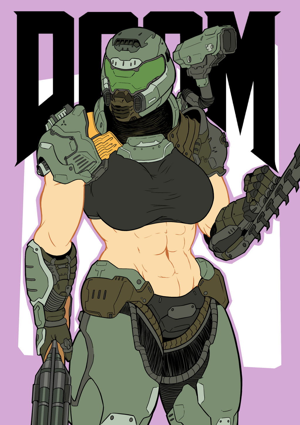 Doom Girl By Lozev On Deviantart