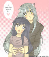 Inuyasha and Kagome: Love by aishiteru-zutto