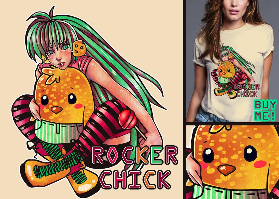 Rocker Chick B by aishiteru-zutto