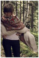 Folk scarf again by Slawin
