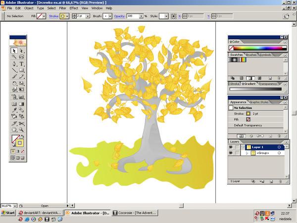 My  desktop by Slawin