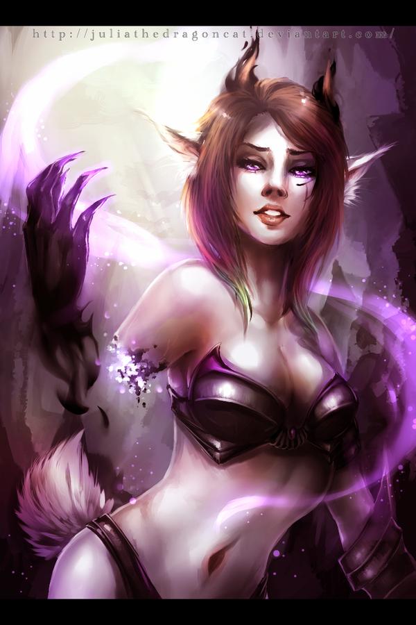 .: Ghostly Devil :. by JuliaTheDragonCat
