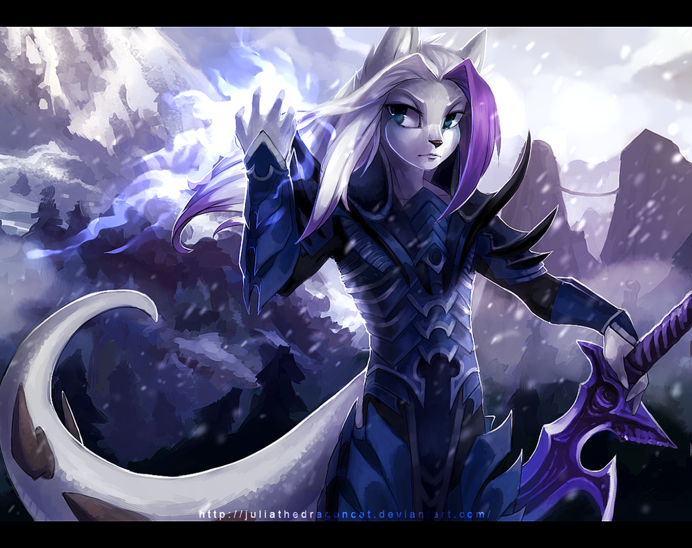 .: Flying Snow :. by JuliaTheDragonCat