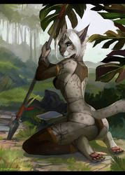 .: Jungle Warrior :. by JuliaTheDragonCat