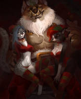 .: Who Is Your Santa :. by JuliaTheDragonCat