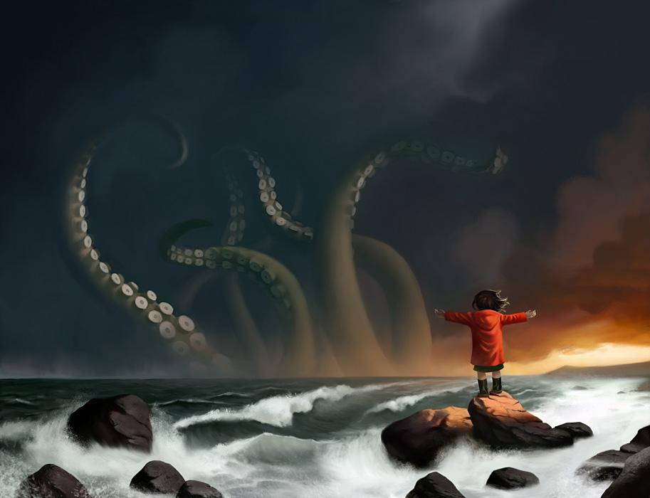 The Sea by ture-e