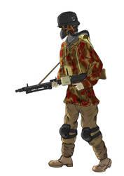 German Plague Gunner by DrAdalwinMuller